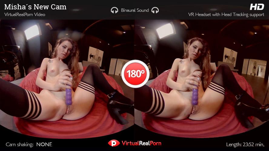 VR Porn Misha's New Cam