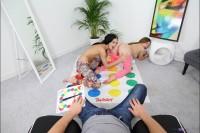 VR Porn Making Hard Twister Sex