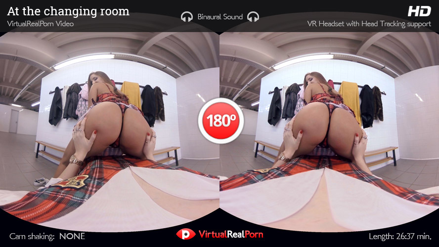 VR Porn At the changing room