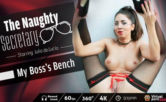 VR Porn The Naughty Secretary: My Boss's Bench