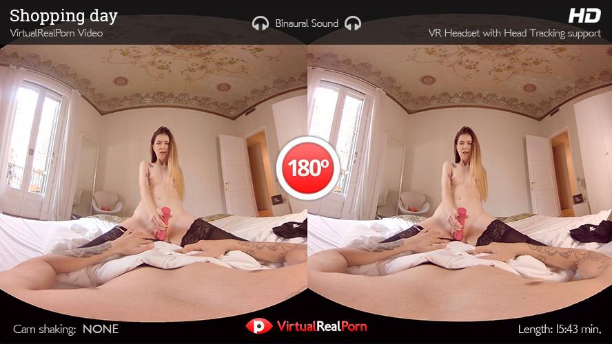 VR Porn Shopping day