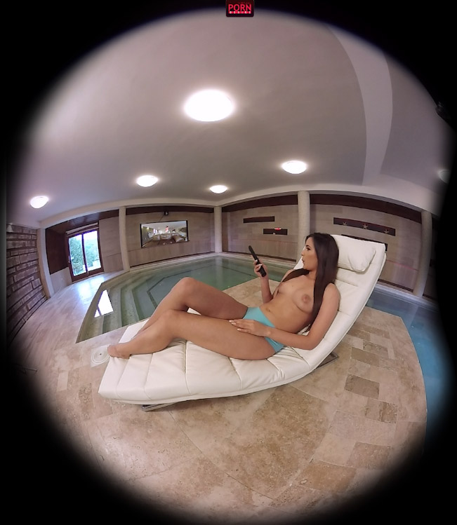 Virtualporndesire tv by the pool 180 vr 60 fps 5