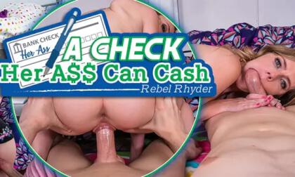VR Porn A Check Her Ass Can Cash