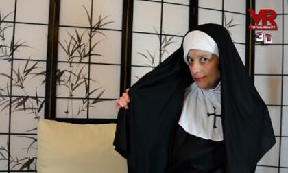 VR Porn The Horny Nun