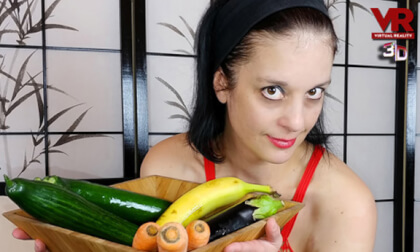 VR Porn Mein Gemüsetag