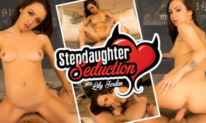 VR Porn Stepdaughter Seduction