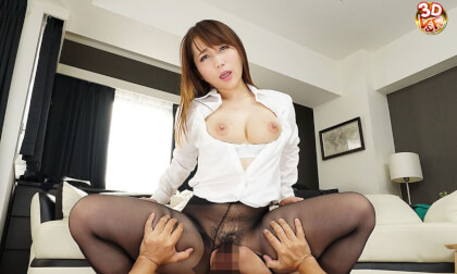 VR Porn Mao Kurata – Lewd Office Lady Pantyhose JOI Leads to Sex Part 2
