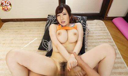 VR Porn Miina Wakatsuki – Exercising Voluptuous Mother-in-Law in Tight-Fitting Training Wear Part 2