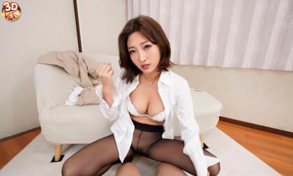 VR Porn Sumire Mizukawa – Dominant Female Boss Looks Down at Me Part 1