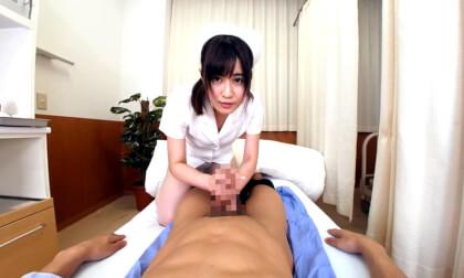 VR Porn Mirai Haruka – Angel Hands White Uniform Nurse Part 1