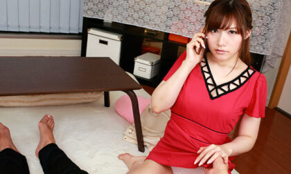 VR Porn Akari Maijima – Sex With My Girlfriend While She's on the Phone Part 1