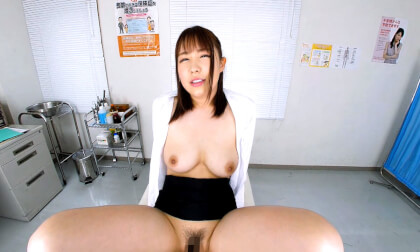 VR Porn Big Tits Office Lady gets a Checkup Part 2
