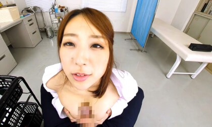 VR Porn Big Tits Office Lady gets a Checkup Part 3