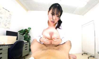 VR Porn Big Tits Office Lady gets a Checkup Part 5