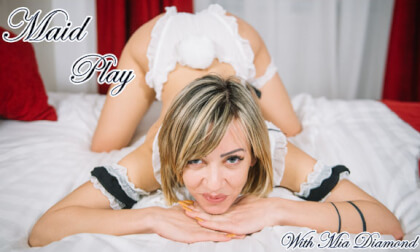VR Porn Maid Play - Mia Diamond
