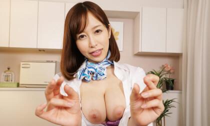 VR Porn Yuu Shinoda – Masturbation Support with Creampie Sex Part 2