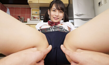 VR Porn Aoi Kururigi – My Sister with a Great Ass Came Home Wearing Bloomers Part 1
