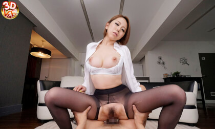 VR Porn Erika Kitagawa – (Double Feature!) My Boss Looking Down on Me / My Aunt Can't Take it Anymore!  Part 2