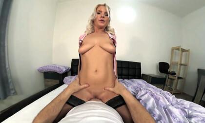 VR Porn Kathy Anderson: A Flight Attendant Fantasy