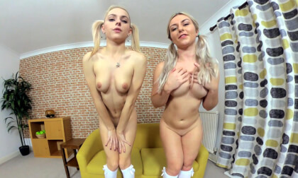 VR Porn Chloe Toy and Elle H