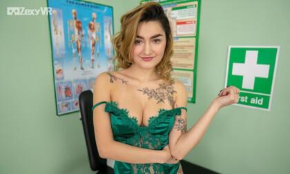 VR Porn Natural Nurse