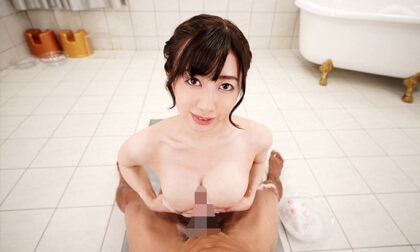 VR Porn Manami Ooura – Bareback Creampie Sex with Busty Soapland Girl Part 1