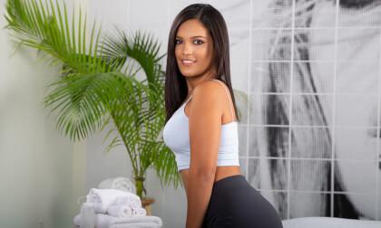 VR Porn Oiled Latina Ass