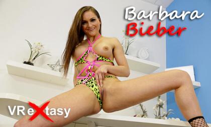 VR Porn Barbara Bieber Solo