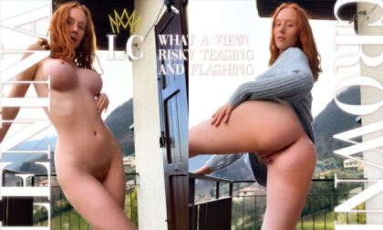 VR Porn What a View! Risky Teasing and Flashing in Public
