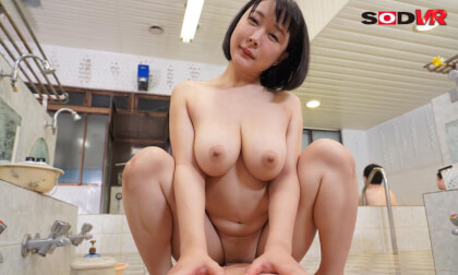 VR Porn Arisa Hanyu – Washing your Body with her Famous I-Cup Tits Part 4