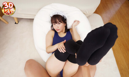 VR Porn Yuri Shinomiya – You Called a Housekeeper and got a Woman with a Big Ass in a Swimsuit! Part 2