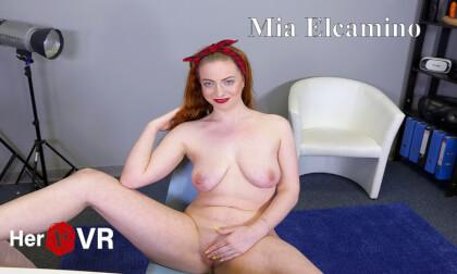 VR Porn Mia El Camino - First VR Casting