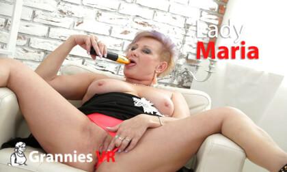 VR Porn Lady Maria Solo