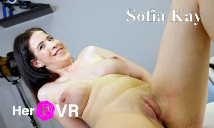 VR Porn Sofia Kay - First VR Casting