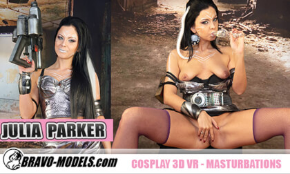 VR Porn Julia Parker Likes Cosplay and Cumming