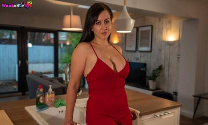 VR Porn Red Dress