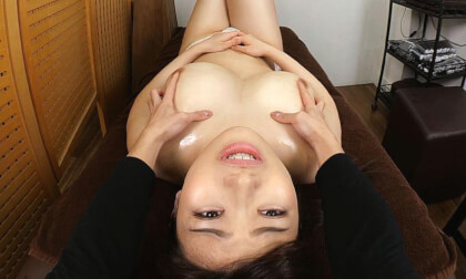 VR Porn Ena Koume – Massage with Aphrodisiac Oil – Ena's K-Cup Breasts