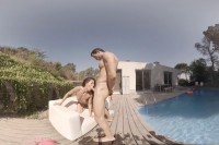 VR Porn The Pool Boy: Wet Me