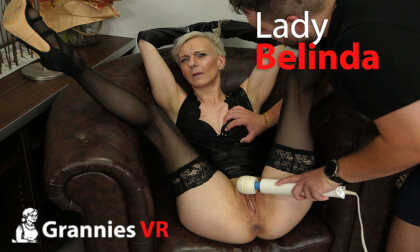 VR Porn Belinda - Magic Wand Masturbation