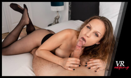 VR Porn Sensual Edging with Mary Wet