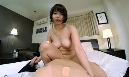 VR Porn Shoko Akase – Sharing a Room with Female Coworker While on a Business Trip