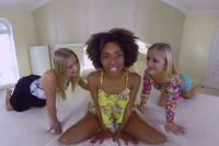 VR Porn Luna Corazon & Violette Pink & Cayla Lyons