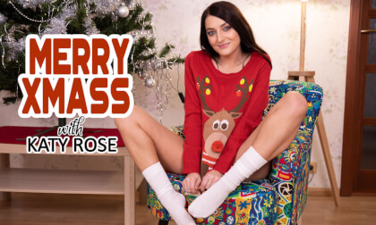 VR Porn Merry Xmass with Katy Rose
