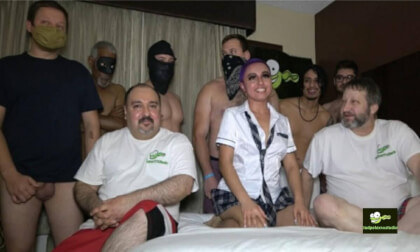 VR Porn School Girl Amanda Angel Gangbang Part 1 of 3
