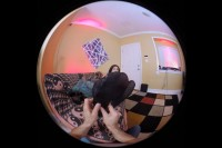 VR Porn You Get to Worship Cheshire Pussy's Feet