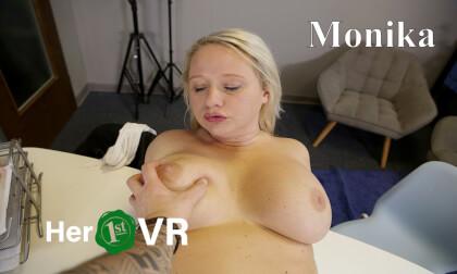 VR Porn Monika - VR Casting