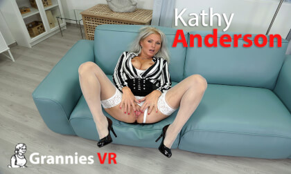 VR Porn Kathy Anderson - Mature Women also Need Love
