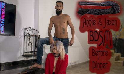 VR Porn Annie & Jaxon BDSM Before Dinner