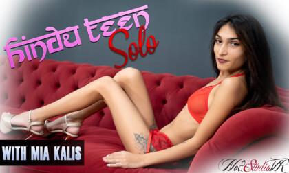 VR Porn Hindu Teen Solo