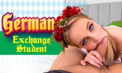 VR Porn German Exchange Student